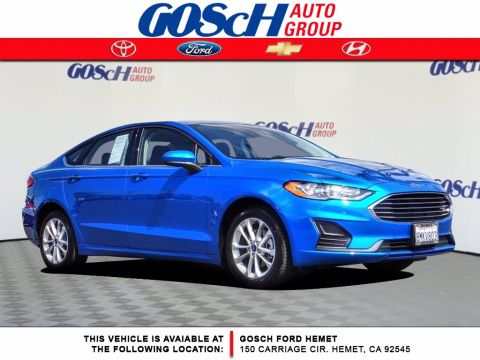 Pre-Owned 2020 Ford Fusion Hybrid SE